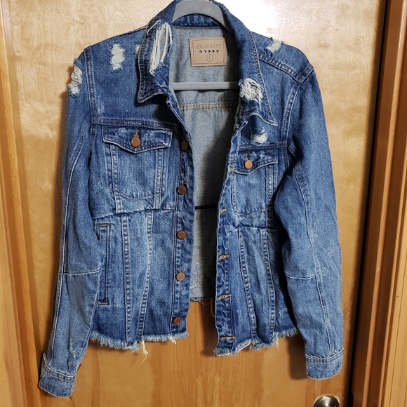 Blank NYC Jackets & Blazers - BLANKNYC Denim Jacket
